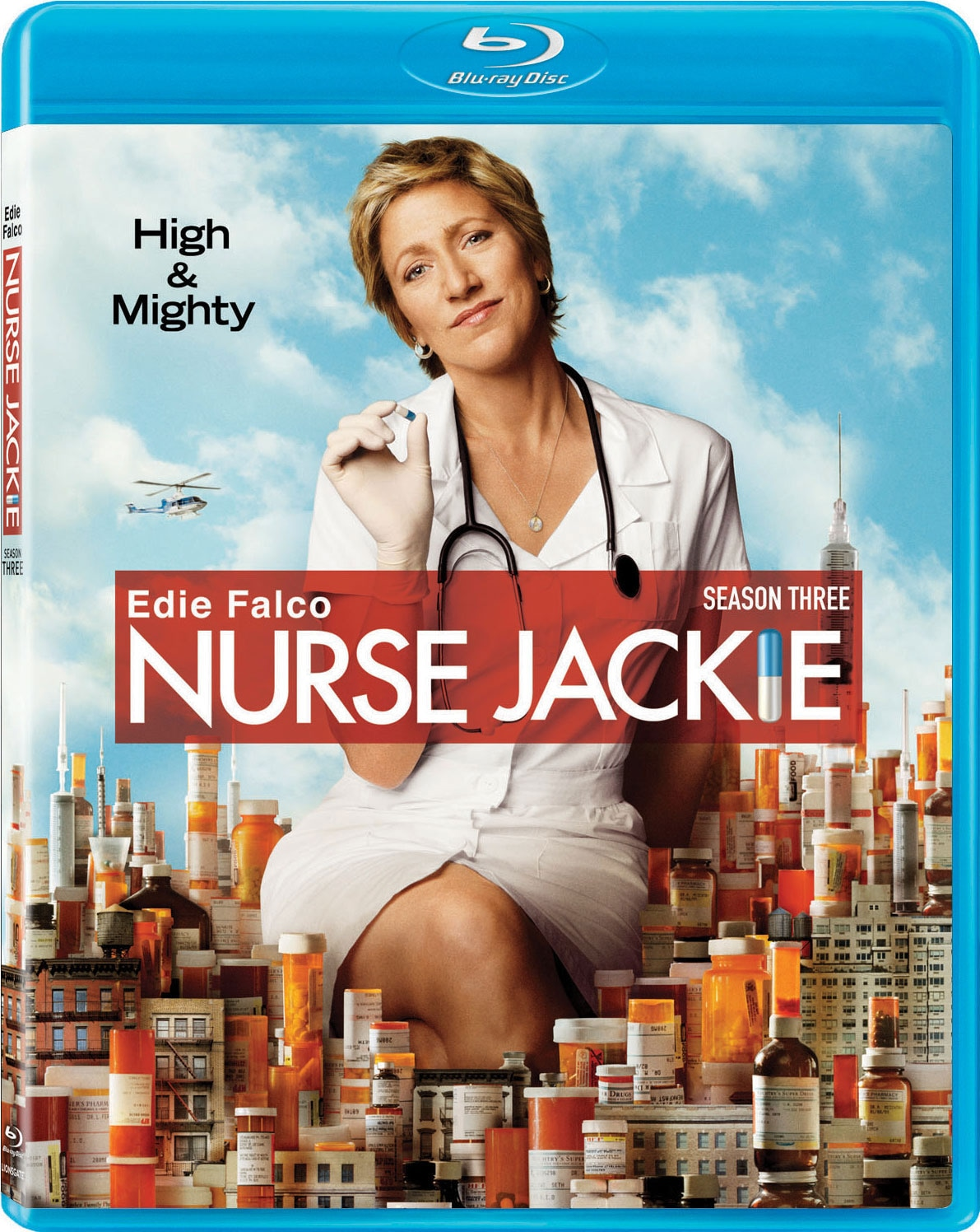 Nurse Jackie: Season 3 (Blu-ray Disc)