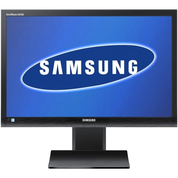"Samsung SyncMaster S24A450MW 24"" LED LCD Monitor - 16:10 - 5ms - TAA"