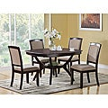 Cappuccino 38-inch H Dining Chairs (Pack of 2)