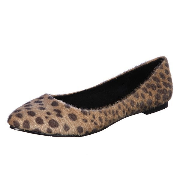 Coconuts by Matisse Women's 'Dayton' Leopard Flats FINAL SALE