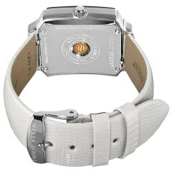 Philip Stein Women's Classic White Leather Strap Watch