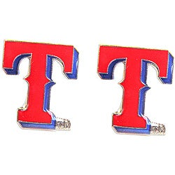 Aminco International Texas Rangers Post Stud Earrings Set