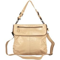 Latico Mimi Flapover Convertible Leather Shoulderbag