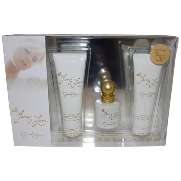 Jessica Simpson Fancy Love Women's 3-piece Fragrance Gift Set