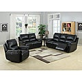 Javier Black Power Reclining Set