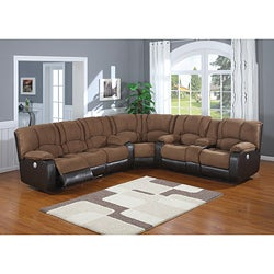 Jagger Mocha Power Reclining Sectional