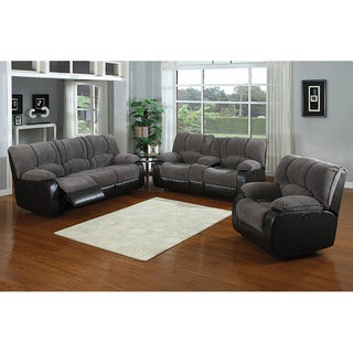 Jagger Grey Dual Reclining Set