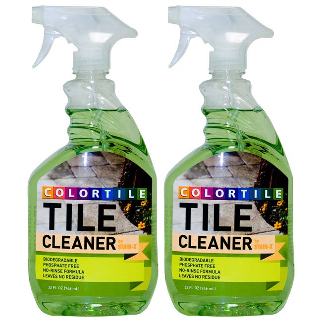 Floor tile cleaner products