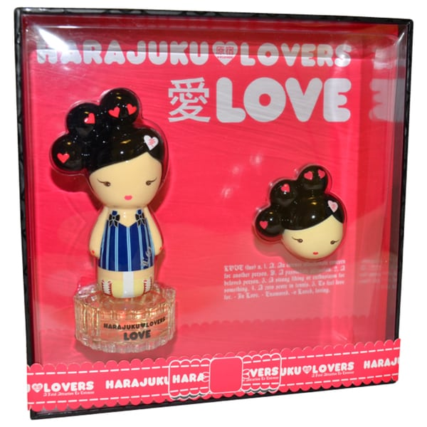 Gwen Stefani Harajuku Lovers Love Women's 2-piece Gift Set