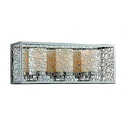 Contempo 3-Light Chrome Bath Fixture