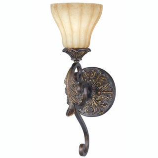 Venus 1-Light English Bronze Wall Sconce