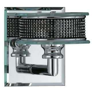 Vegas 1-Light Polished Chrome Wall Sconce