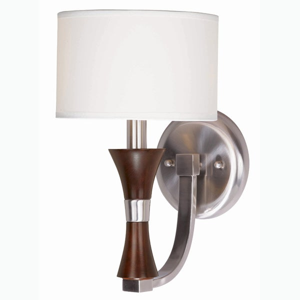 Brady 1-Light Brushed Steel Wall Sconce