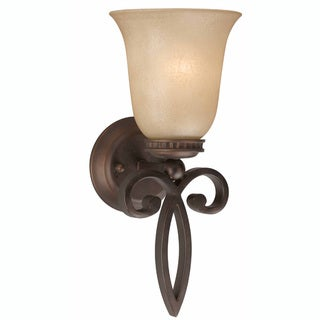 Corsica 1-Light English Bronze Wall Sconce