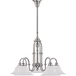 Cortland 5-light Satin Nickel Chandelier