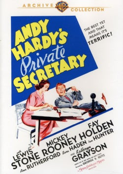 Andy Hardy's Private Secretary (DVD)