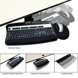 Regency Seating Articulating Keyboard and Mouse Tray