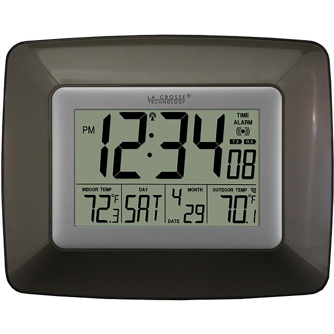 Atomic digital wall clock 14018263 overstockcom for Digital atomic wall clock