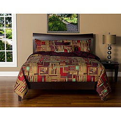Mission Statement 6-piece Duvet Cover and Insert Set