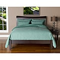 Belfast Teal Twin-size 4-piece Duvet Cover Set
