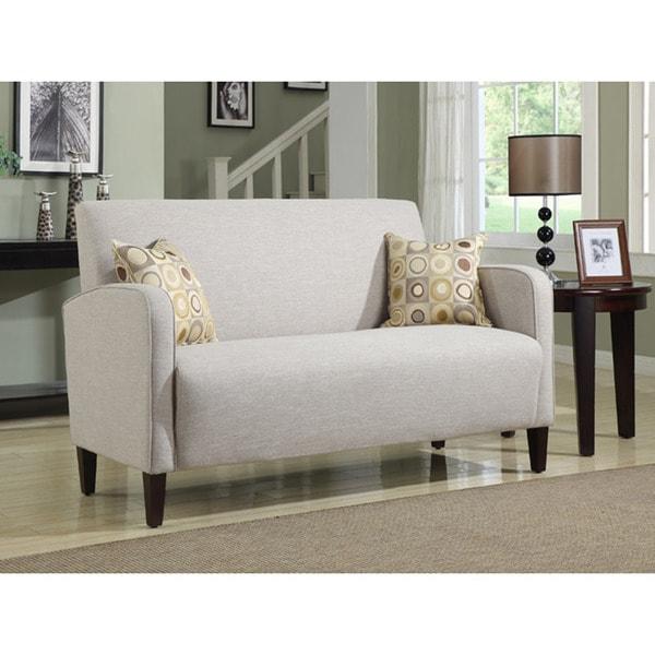 portfolio gabi khaki sand linen apartment size sofa