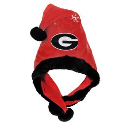 Georgia Bulldogs Thematic Santa Hat