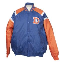 Denver Broncos Heavy Weight Throwback Winter Jacket