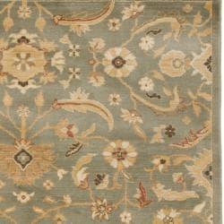 Safavieh Oushak Blue/ Gold Powerloomed Rug (4' x 5'7)
