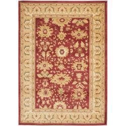 Safavieh Oushak Red/ Cream Powerloomed Rug (4' x 5'7)