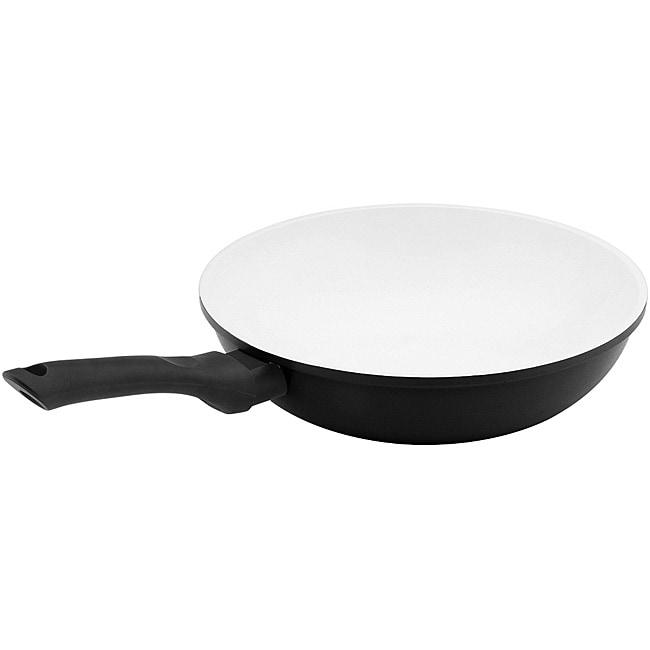 Vinaroz Black Ceramic Coated 12-inch Wok