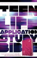 Teen Life Application Study Bible: New Living Translation, Pink Fields, LeatherLike (Paperback)