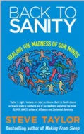 Back to Sanity: Healing the Madness of Our Minds (Paperback)