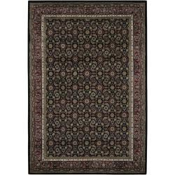 Mandara Hand-knotted Traditional Indoor Wool Rug (7'9 x 10'6)