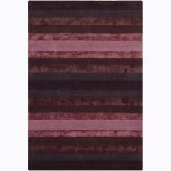 Hand-Tufted Wool/Viscose Mandara Rug (5' x 7'6)