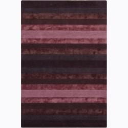 Hand-Tufted Wool/Viscose Mandara Rug (5' x 7'6)