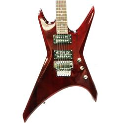 SVP dr. Tech MS-3 Metallic Red X-shape Electric Guitar
