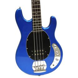 SVP dr. Tech MSB-S1 Metallic Blue 4-string Electric Bass Guitar