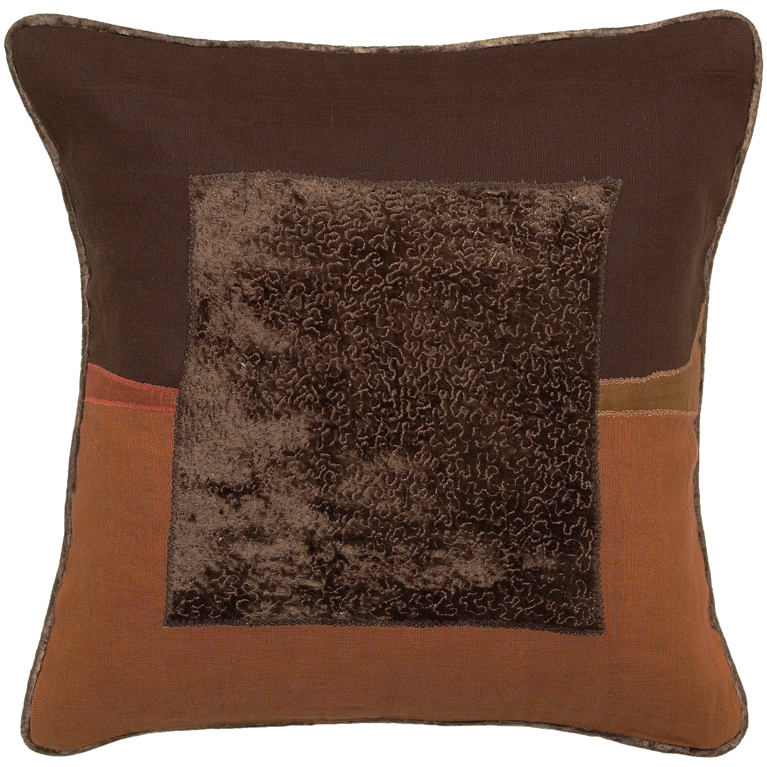 Down Filled 'Bomaderry' Decorative Square 18-inch Pillow