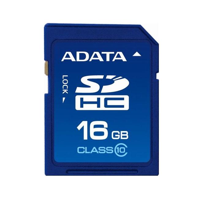 A-Data 16GB Class 10 SDHC Flash Memory Card
