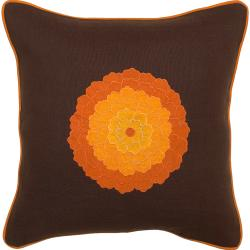 Down Fill 'Nowra' Decorative 18-inch Square Pillow