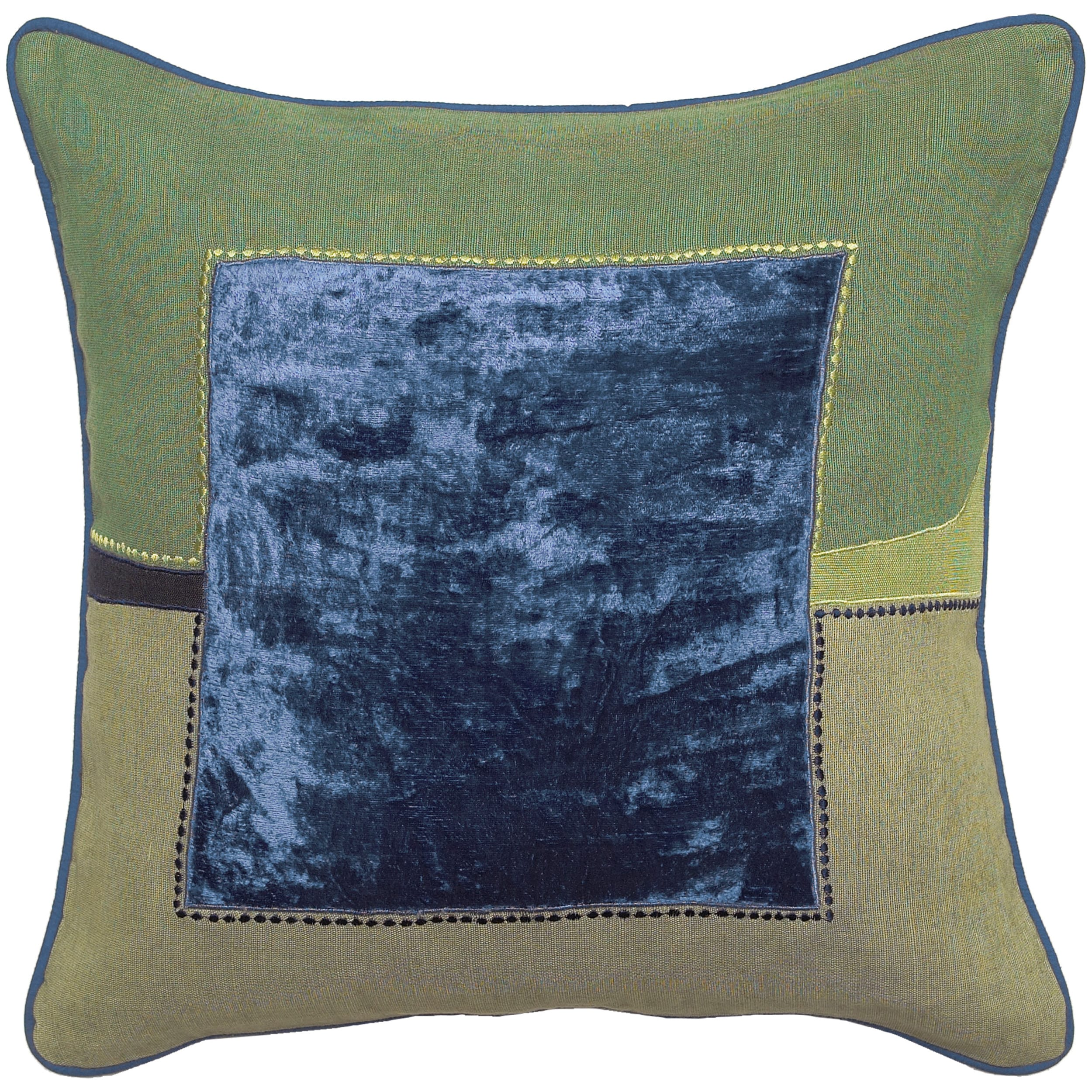 Down Filled 'Chittenden' 18-inch Square Decorative Pillow