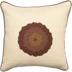 Down 'Geraldton' 18-inch Square Decorative Pillow