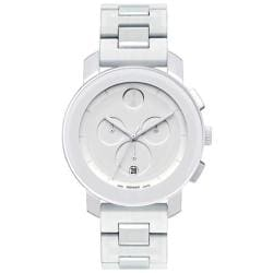 Movado Bold 3600057 White Chronograph Watch