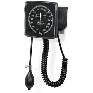 Sterling Wall-Type Latex-Free Clock Aneroid Sphygmomanometer