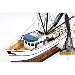Old Modern Handicrafts Shrimp Boat Model