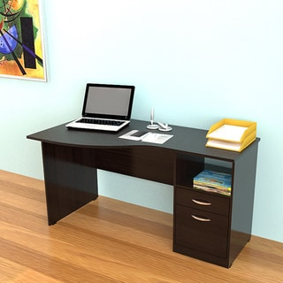 Inval Espresso Curved Top Desk