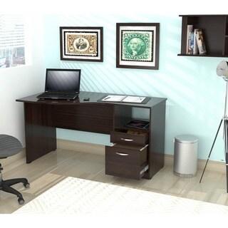 Inval Espresso Curved Top Desk