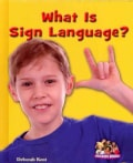 What Is Sign Language? (Hardcover)