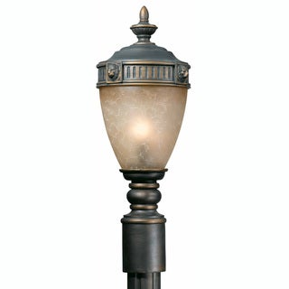 Triarch International Lion 1-light Outdoor Post Head Light
