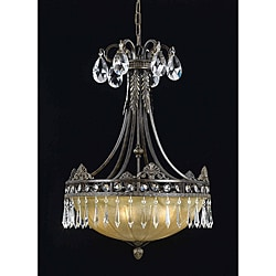 Triarch International LeGrandeur 3-light English Bronze Pendant Chandelier